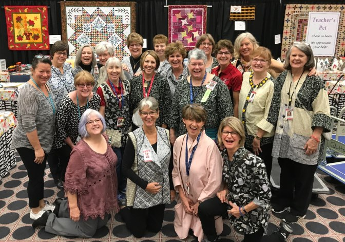 62 Miles, 125,154 Steps at the Largest Quilt Show!